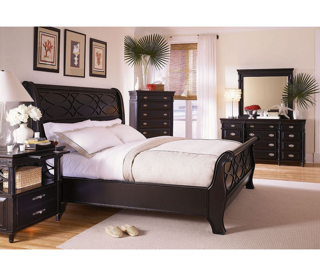 Aspen Home Young Classics 5 Piece Sleigh Storage Bedroom Set