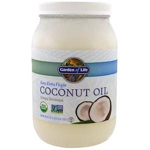 Garden Of Life Raw Extra Virgin Coconut Oil 56 Fl Oz 1 6 L Organic Extra Virgin Coconut Oil Extra Virgin Coconut Oil Coconut Oil