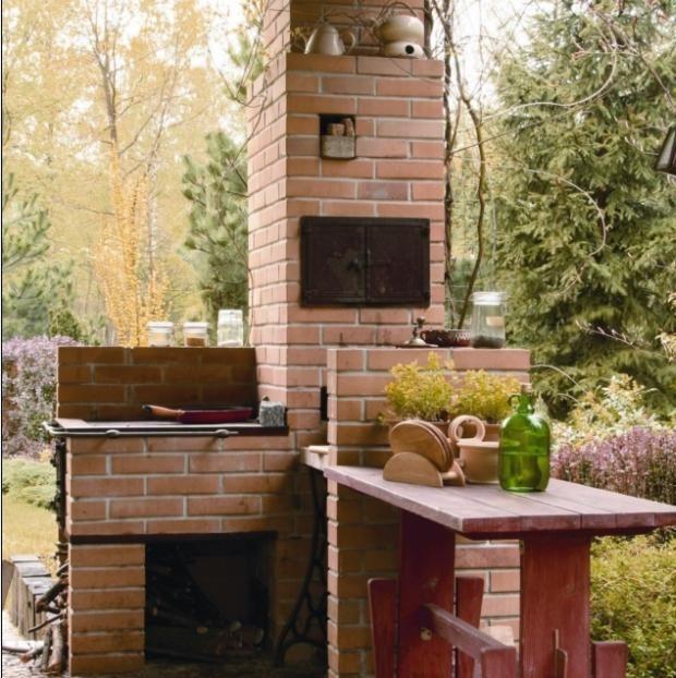 Altana Z Letnia Kuchnia Zbuduj Schronienie Przed Sloncem I Deszczem Muratordom Pl Outdoor Kitchen Smokehouse Outdoor Decor