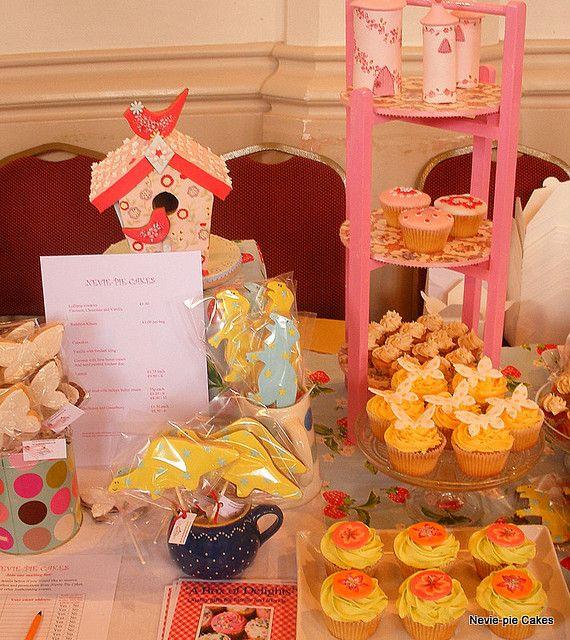 I like the cupcake presentation.