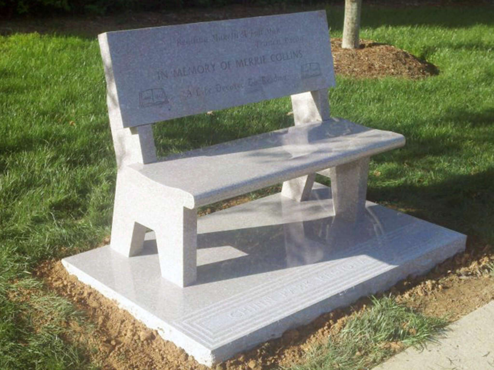Em 2314 Memorial Benches Granite Memorial Granite