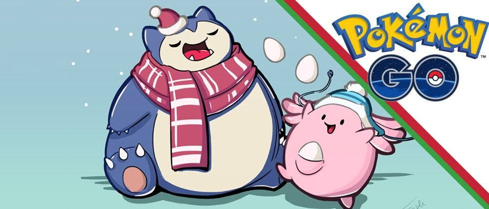 Christmas Update Pokemon Go.Pokemon Go Christmas Event Update Reported On Snorlax And