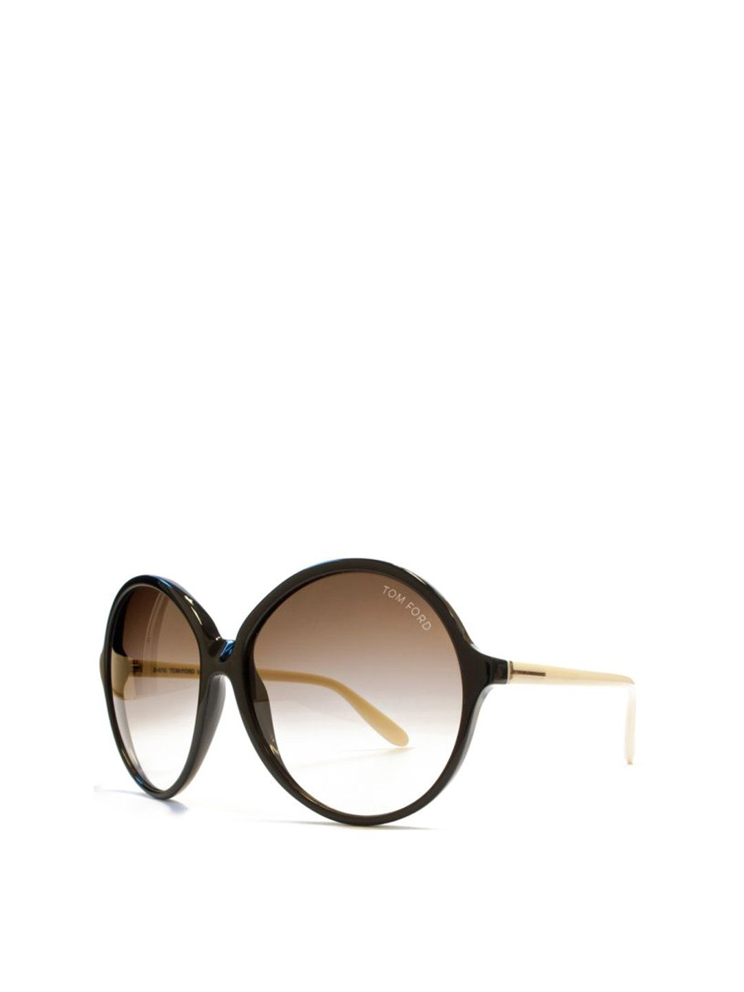 bf980bae9f Dark Brown Round Sunglasses - On Sale - Mistile