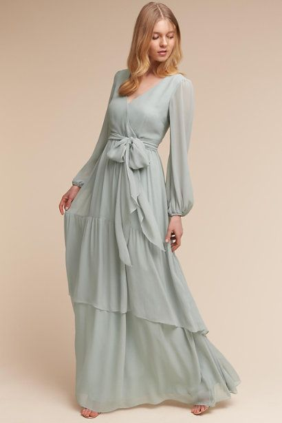 Morning mist maxi dress