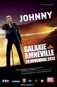 Évènement - Johnny Hallyday - Concert Amnéville 2012