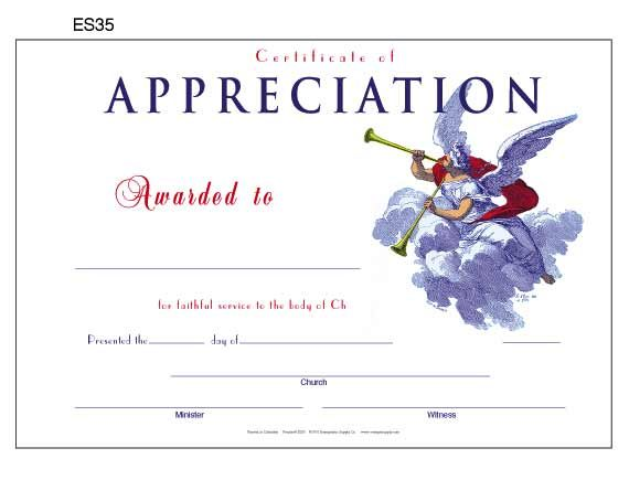 Free Printable Certificate Of Appreciation  Appreciation