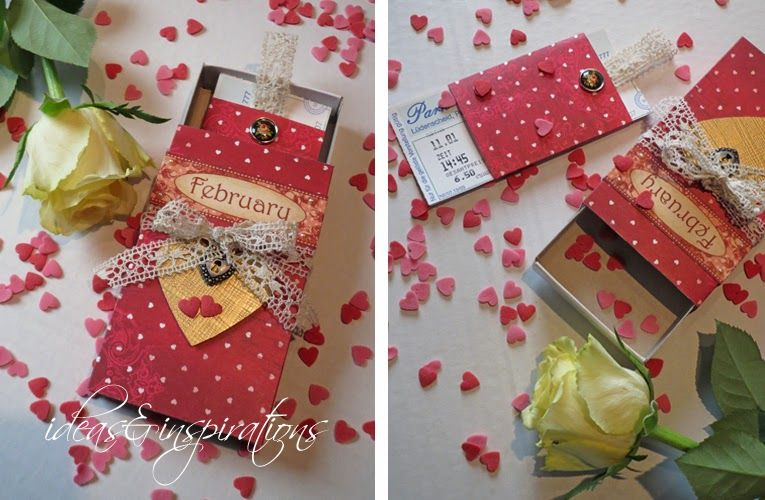 Ideas and Inspirations: DIY Valentistag * Valentines day