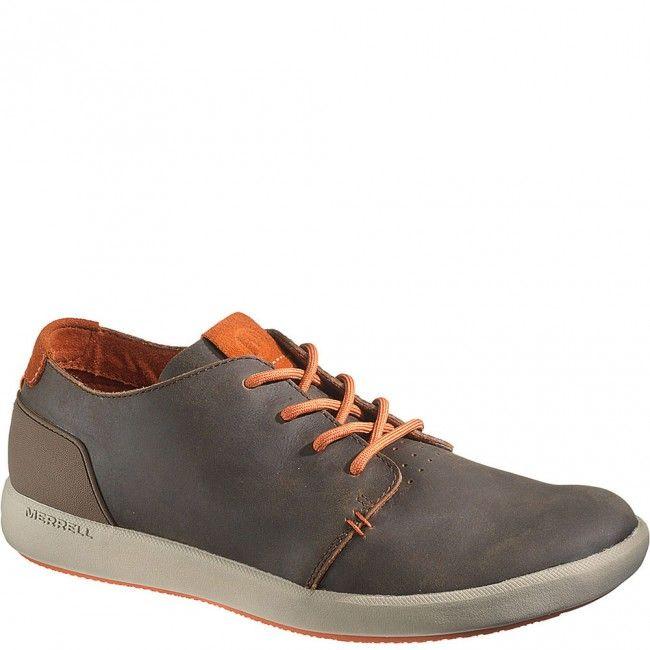 41385 Merrell Men's Freewheel Lace Casual Shoes - Dark Earth www.bootbay.com
