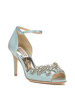 Barker Embellished Toe Evening Shoe