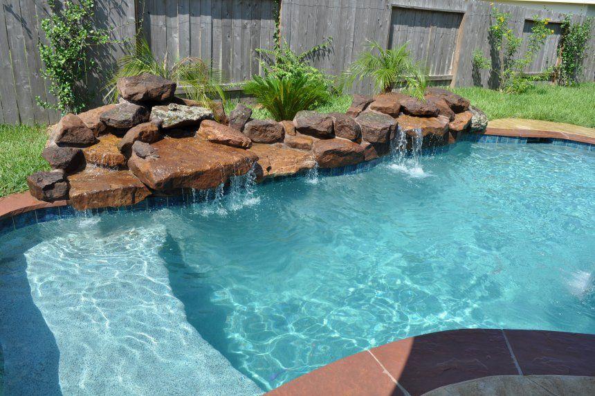 Best Stone For Around Above Ground Pool Backyard Landscaping Ideas Swimming Design Homesth Backyard Pool Landscaping Small Backyard Pools Small Backyard Design