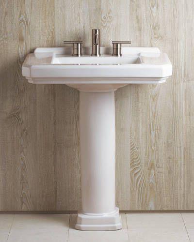 Pedestal Sink Roundup Pedestal Sink Sink Bathroom Faucets