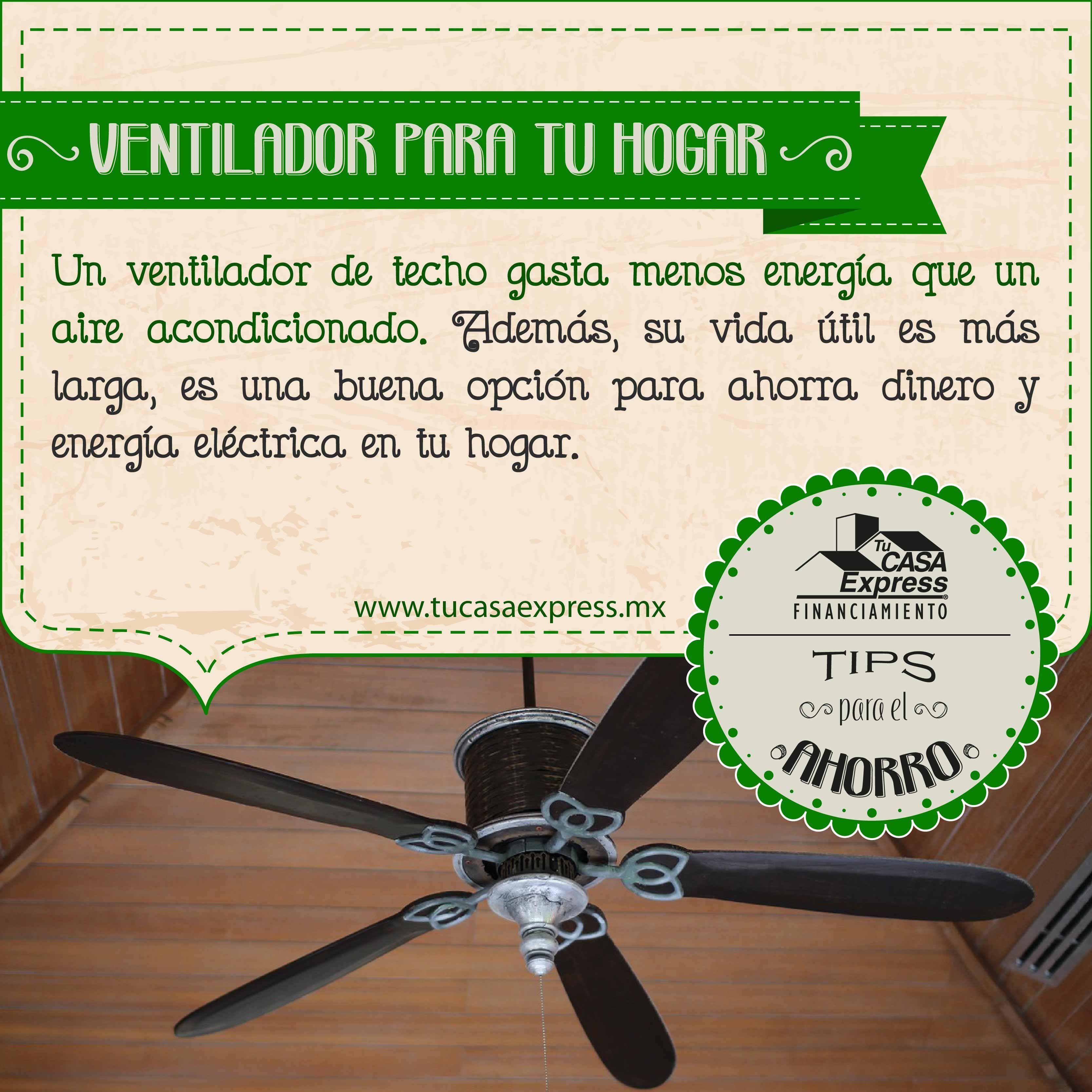 Ahorra energía eléctrica y dinero en tu hogar con estos #TipsExpress ...