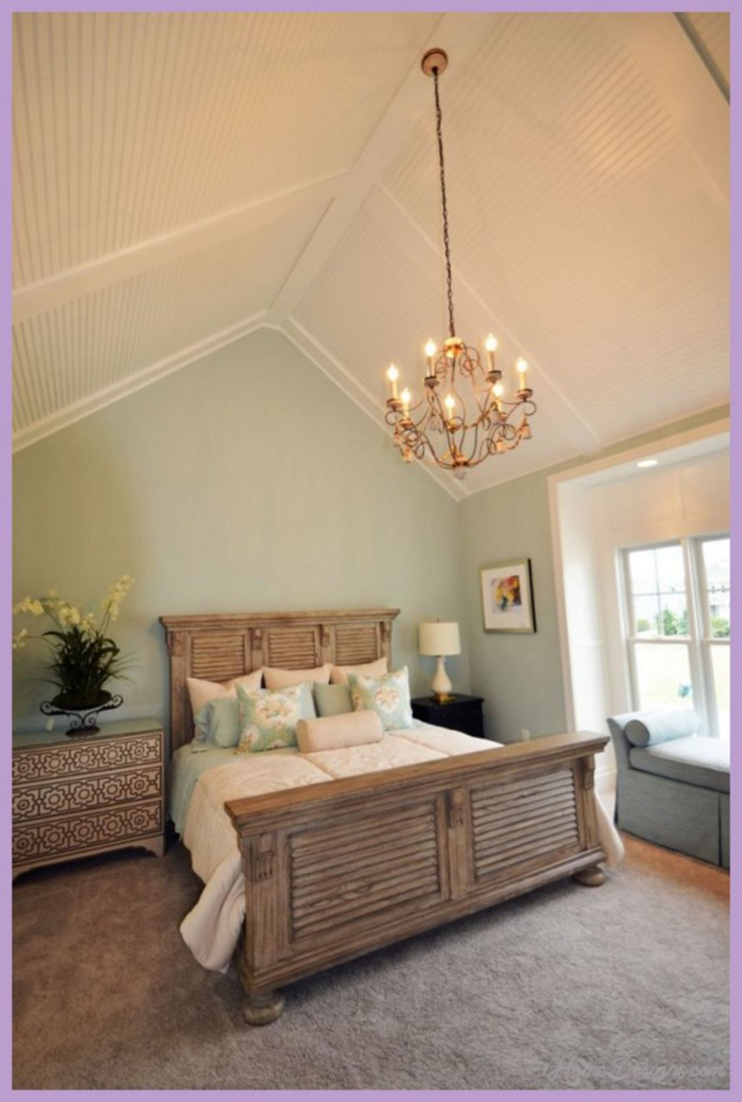20 Vaulted Ceiling Bedroom Design Ideas for Your