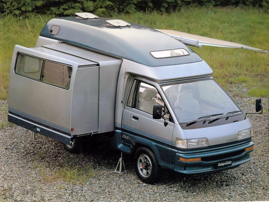 1989 Toyota Camp Mate Custom Camper Vans Toyota Camper Camper