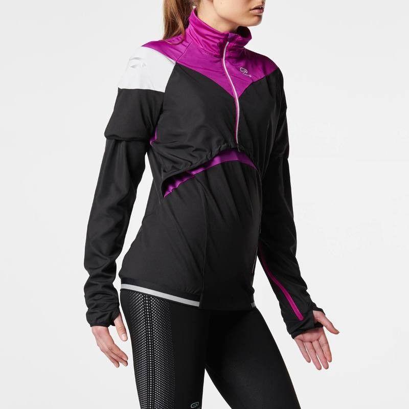Running Bekleidung Laufshirt kurzarm Kiprun Damen KALENJI