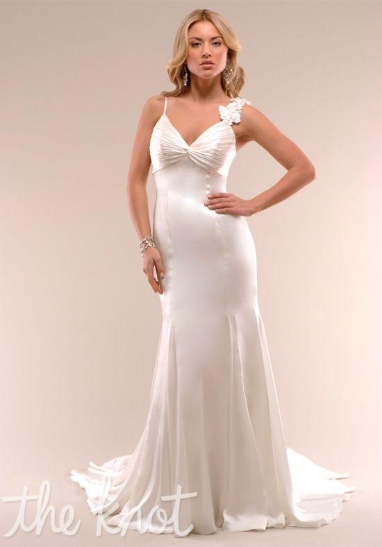 Silk Charmeuse Wedding Dress, Fall Bride, Fall Wedding, Autumn Bride ...