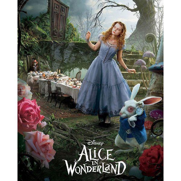 Trailer nou Alice in Wonderland | Blog Vedete ❤ liked on Polyvore featuring alice in wonderland, alice, backgrounds, pictures and disney
