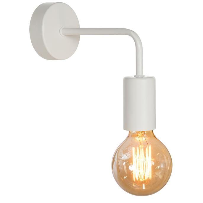 Wandlamp Balor Wit Wandlamp Stal Verlichting Badkamer Verlichting