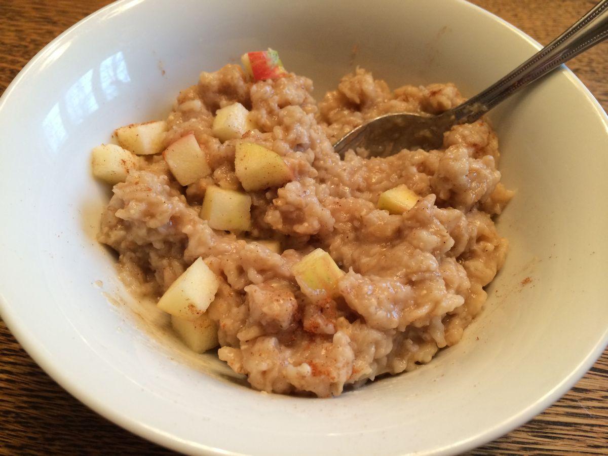 Apple cinnamon oatmeal with images apple cinnamon