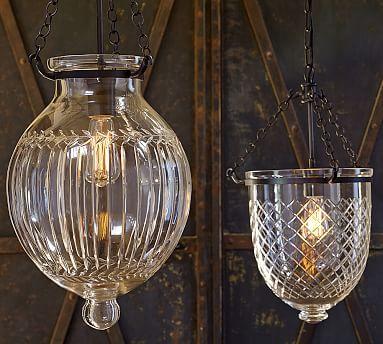 These Look So Much Like The True Vintage Ones Love Them 3 Hundi Cut Gl Lantern Potterybarn