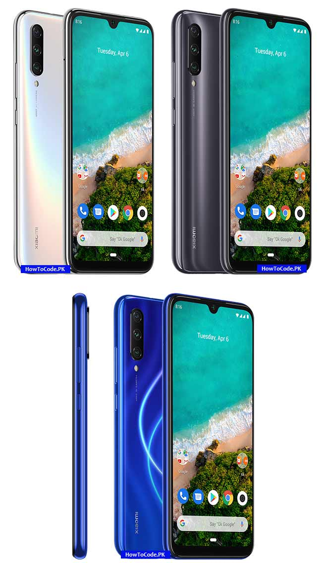 Xiaomi Mi A3 Price and Specs, Images howtocode Android