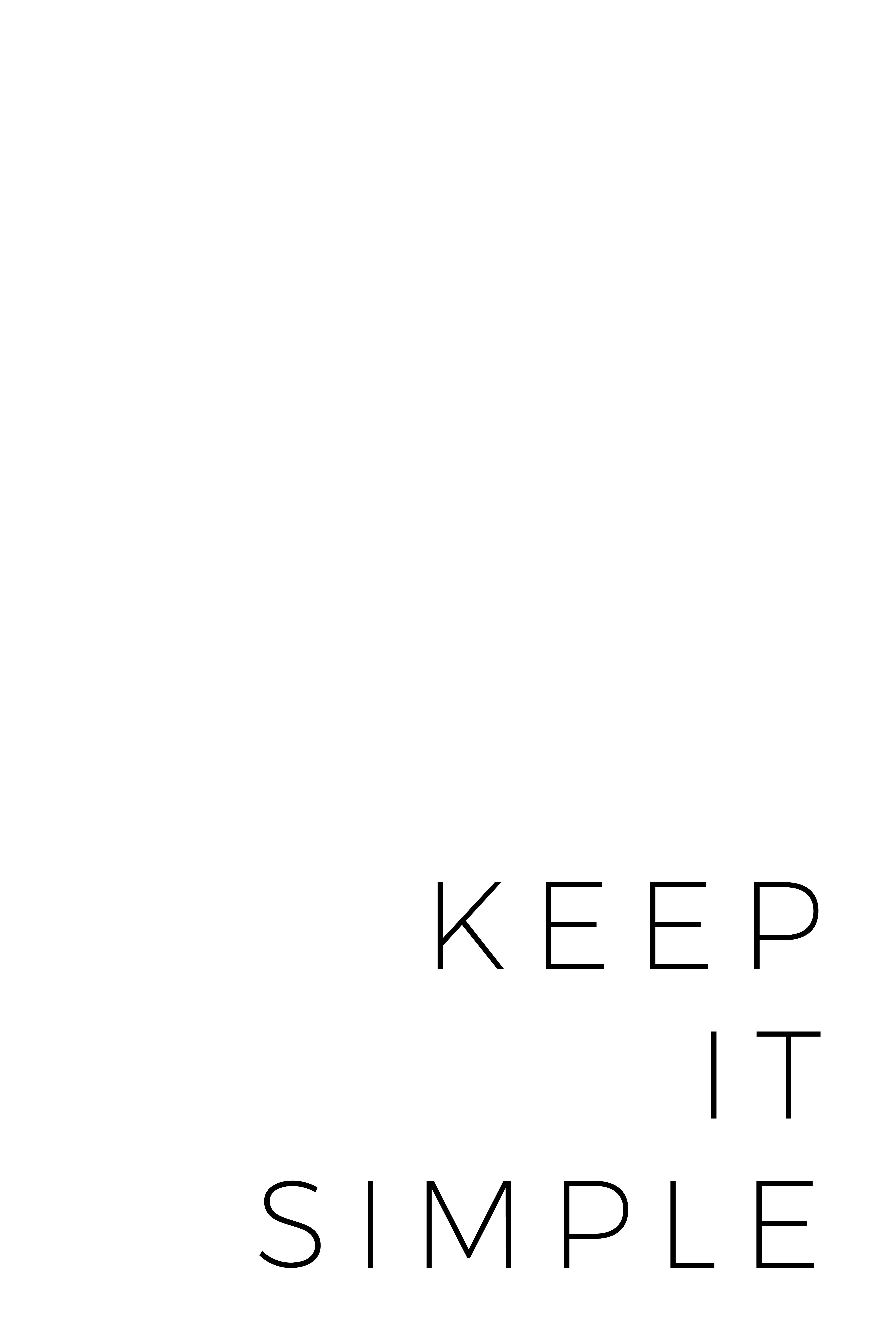 Keep Life Simple Digital Handwriting Poster Simple Life Simplicity Poster Typo Simplicity Printable W Quote Posters Typography Poster Quotes Simple Life Quotes