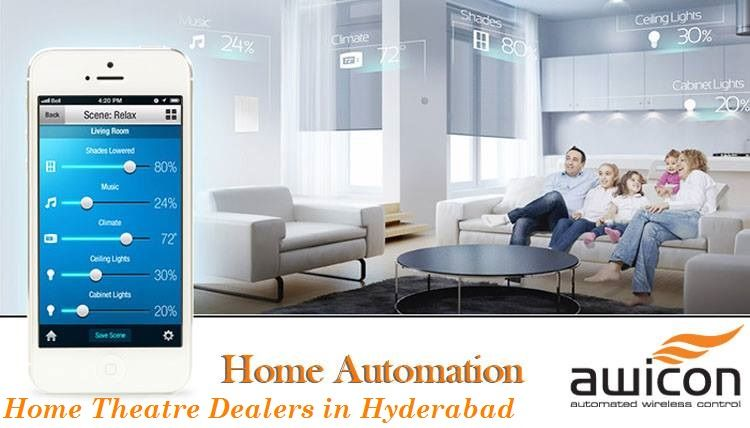 Home Theatre Dealers In Hyderabad And Vijayawada Home Automation Solutions From Avicon Tech Will Create Fully Man Home Automation Home Technology Smart Home