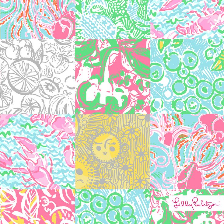 ad3dd594bc44a4 Lilly Pulitzer Summer '14- Maine State Patch | Printed | Lilly ...