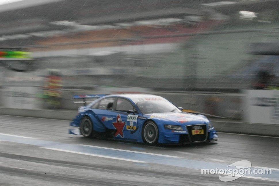 Filipe Albuquerque Audi Sport Team Rosberg Audi A DTM In The Rain - Audi albuquerque