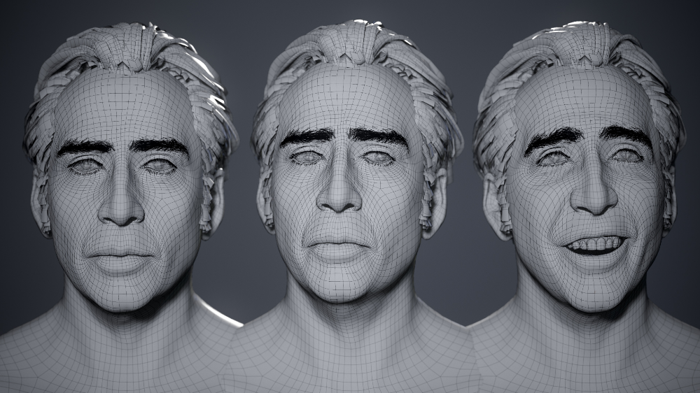 Artstation Just For The Memes Nic Cage Real Time Head Georgian Avasilcutei In 2021 Memes Georgian Cage