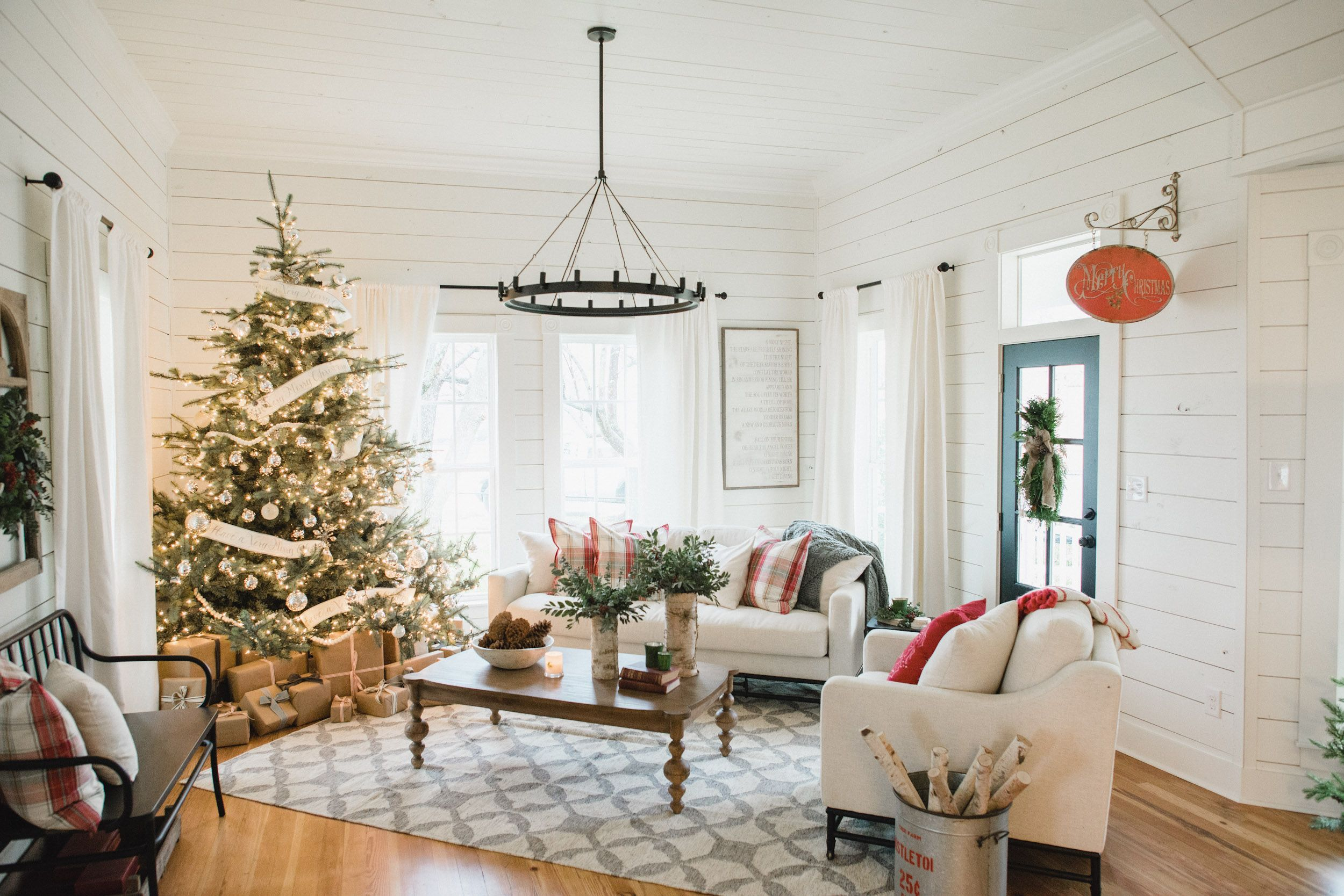 magnolia market christmas decor inspiration magnoliamarketcom