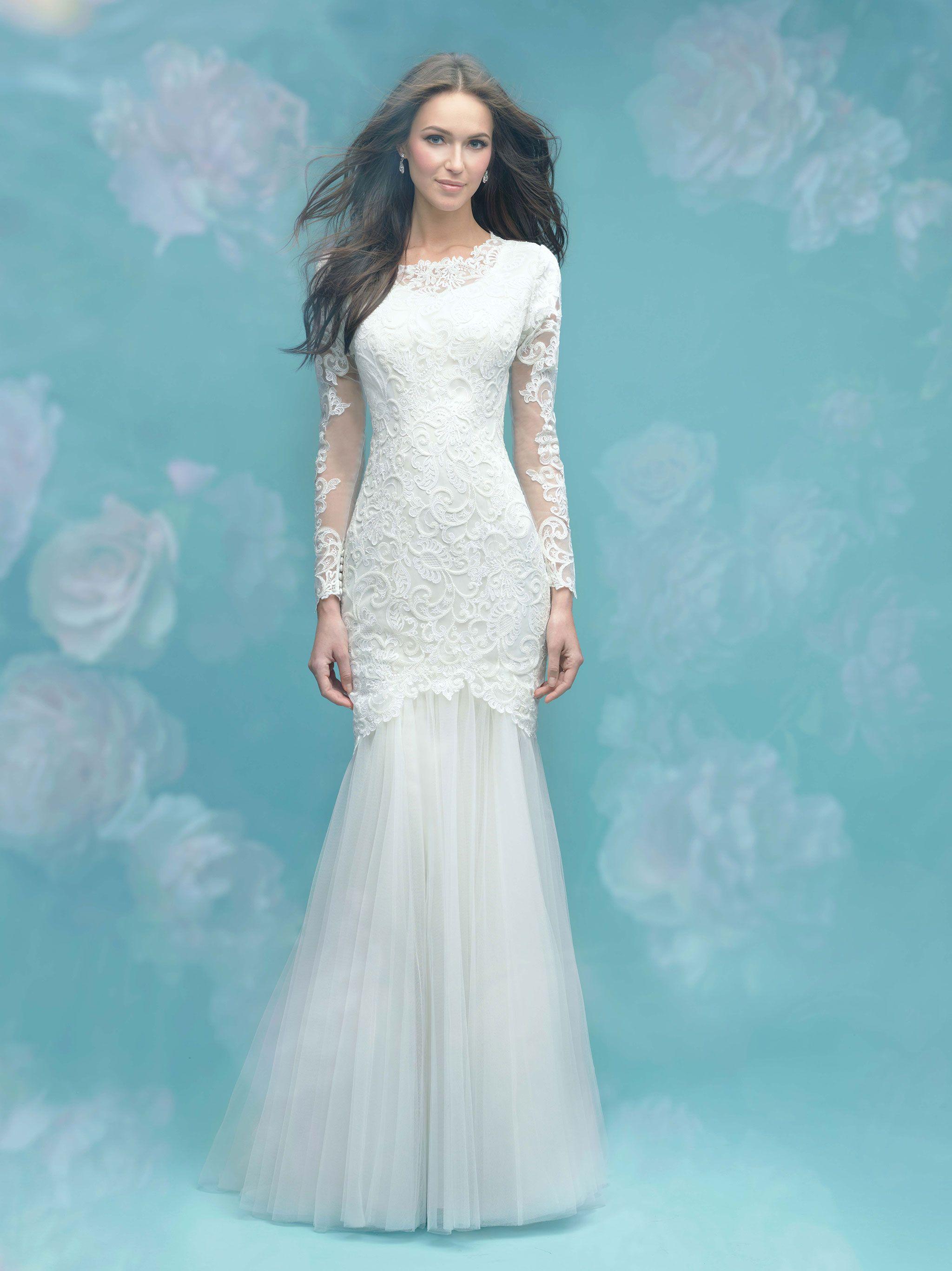 Modest Wedding Dress-Allure Bridals | Modest Wedding Dresses | Pinterest