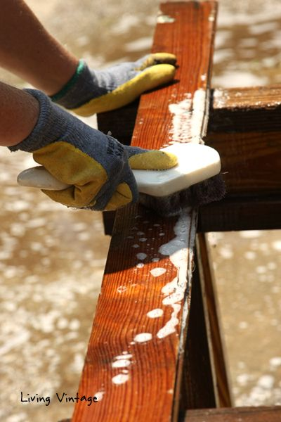 How To Clean Reclaimed Wood With Bleach And Dawn