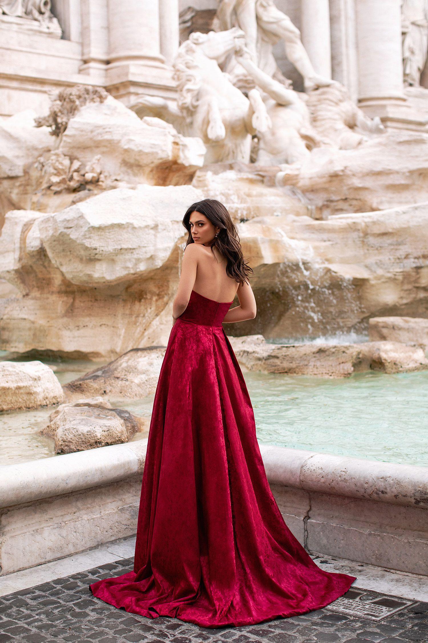Terina Wine Red In 2020 Dresses Gowns Dresses Designer Dresses