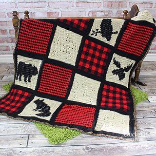 Woodland Nursery Blanket Rug Pattern By Croch Eh Patch