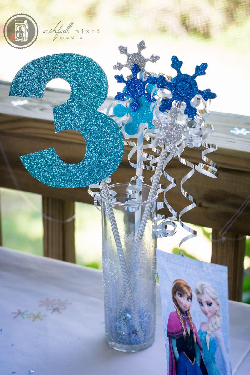 Frozen birthday party for boy centerpiece jett s rd