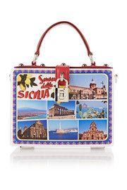 52b9a6c0f9917d Sac à main en PVC imprimé Sicilia Dolce   Gabbana   SICILE - Sicilia ...