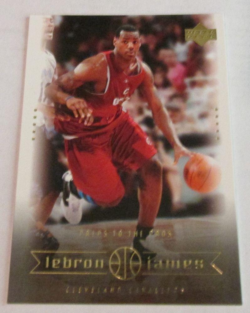 200304 ud lebron james rookie card 11 lebron james