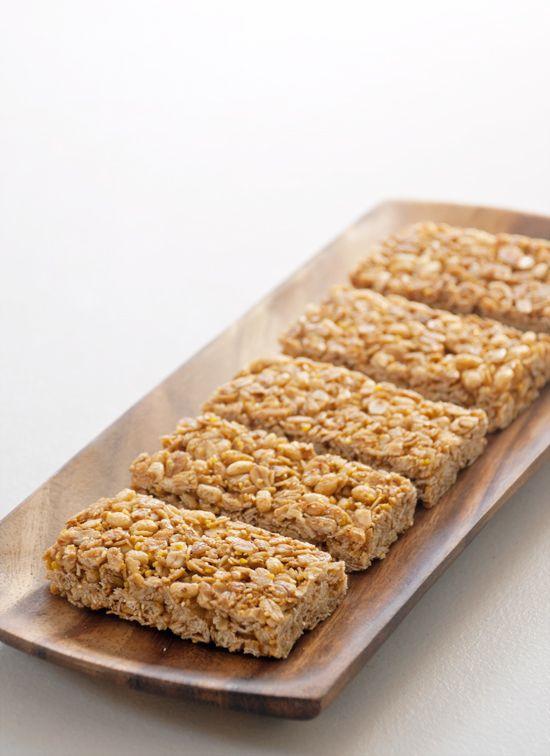 Easy recipe muesli bars