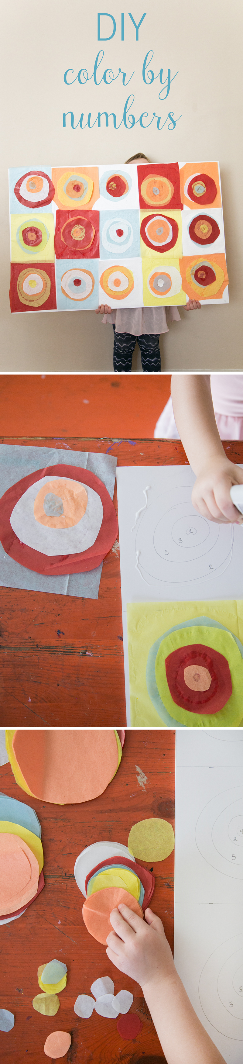 How to Create Color by Numbers for Your Toddler | Craft, Fun diy ...