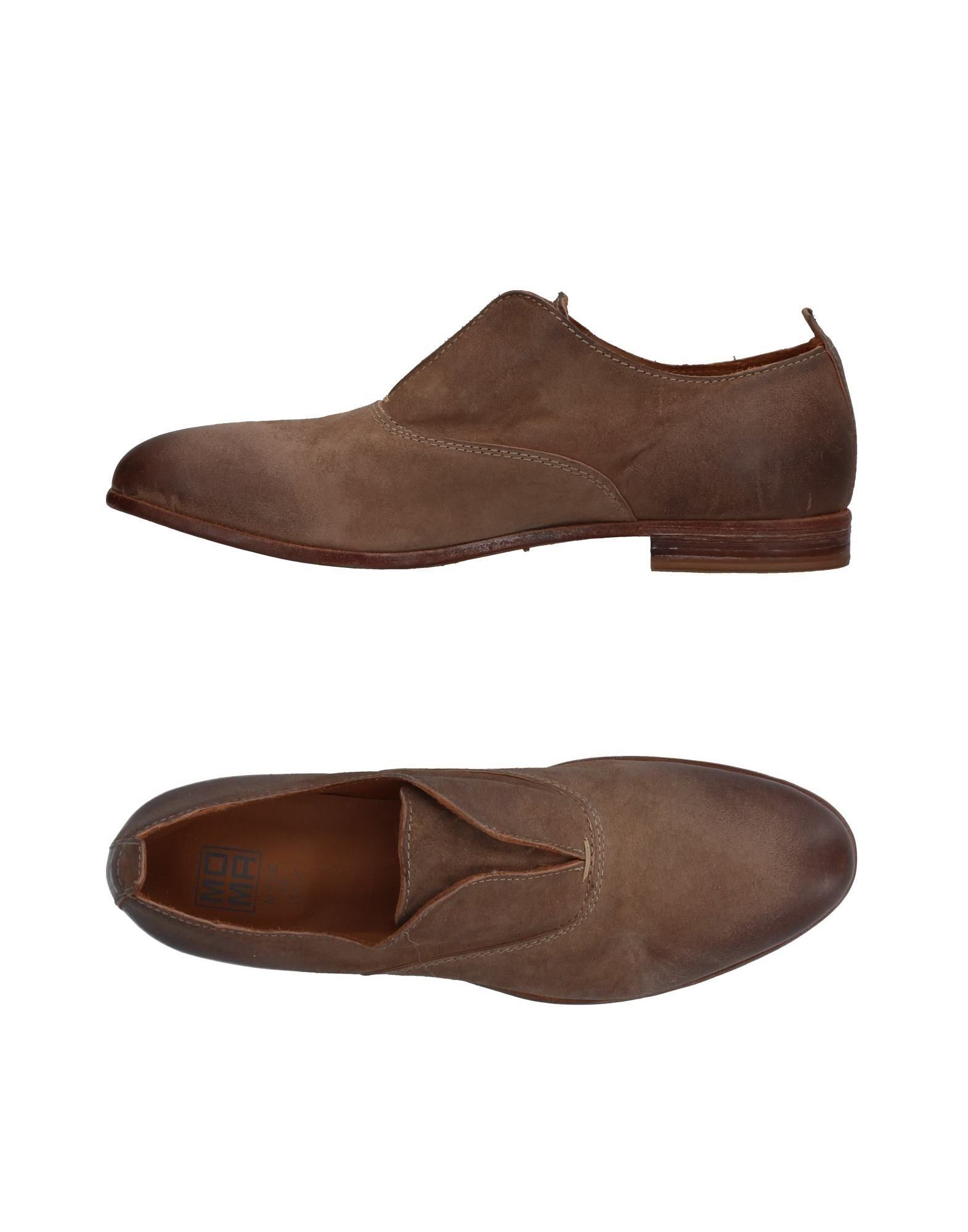 MOMA Loafers-Shoes Womens Leather Brown