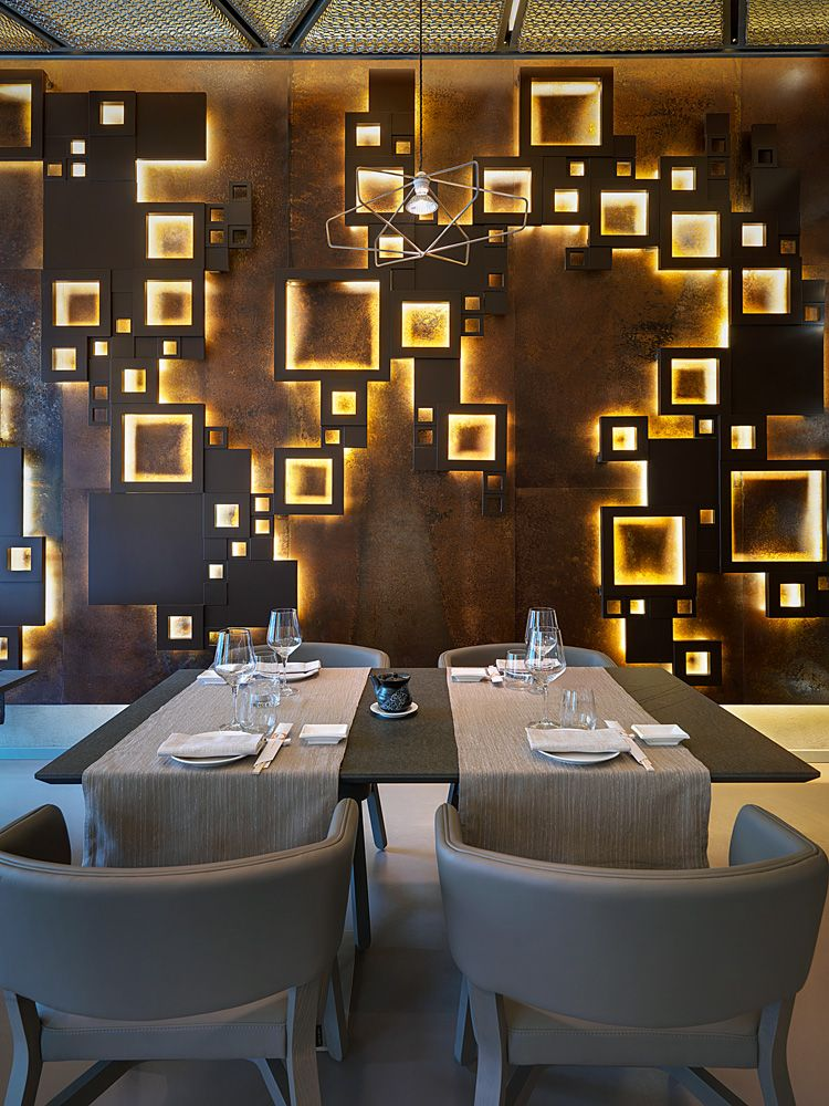 Taiyo sushi restaurant in milan interior design fffun