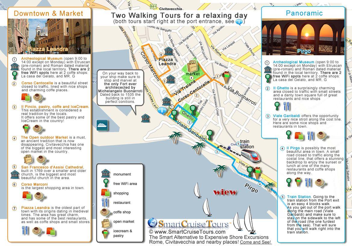 civitavecchia city map Googleda Ara Places to Visit Pinterest