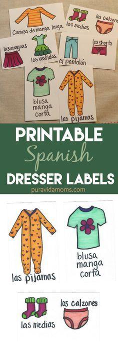 Free Printable Dresser Drawer Lablels