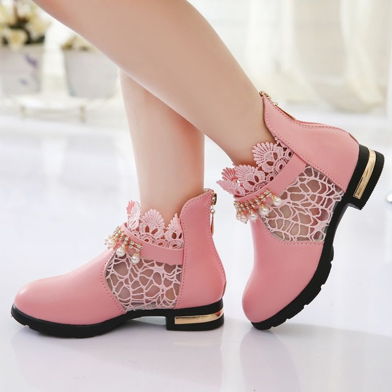 Girls Boots For Children Princess Shoes