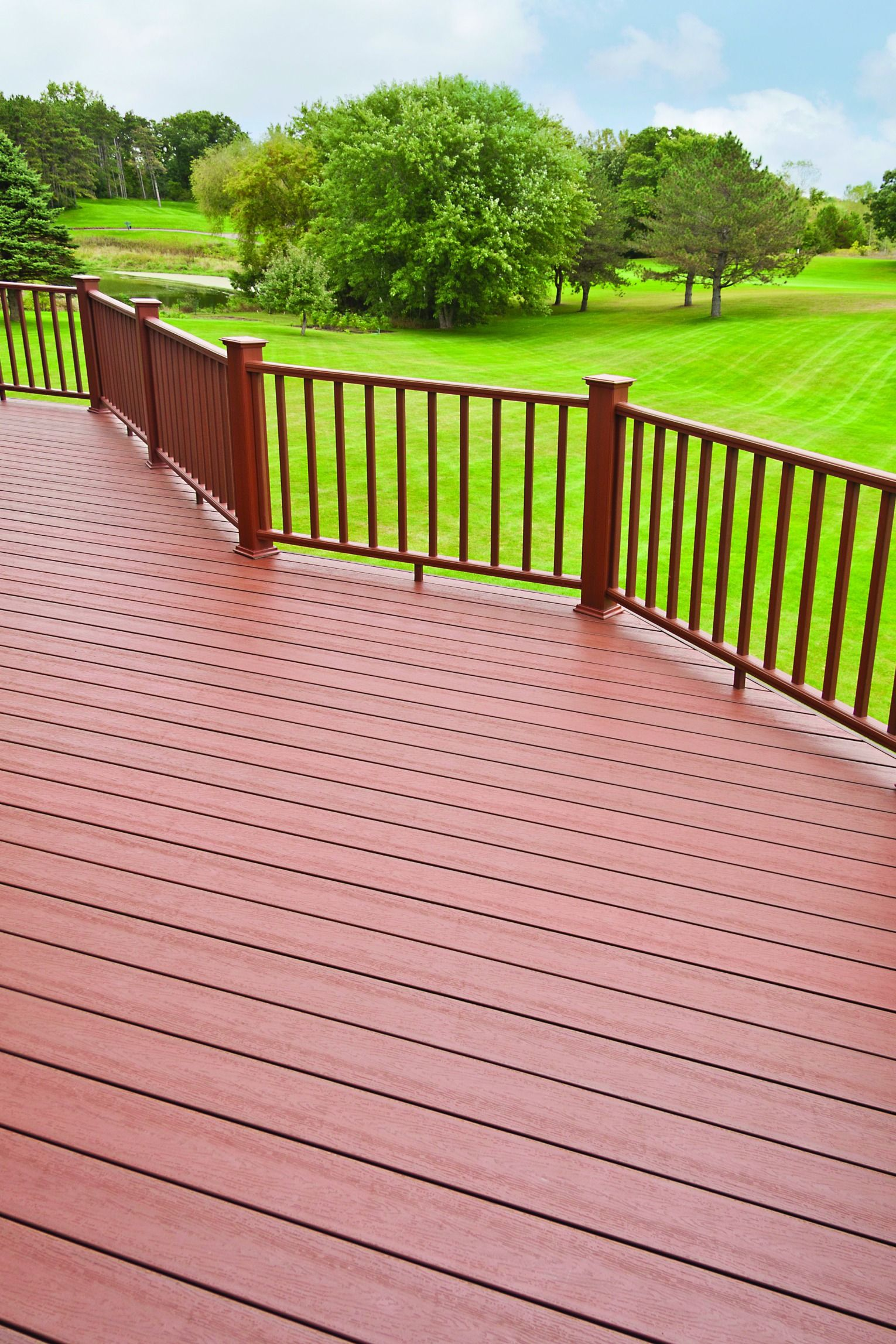 Enhance your yard with UltraDeck® Fusion® Decking! Unlike