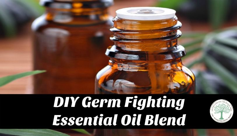 Diy Germ Fighting Essential Oil Blend Similar To 4 Thieves