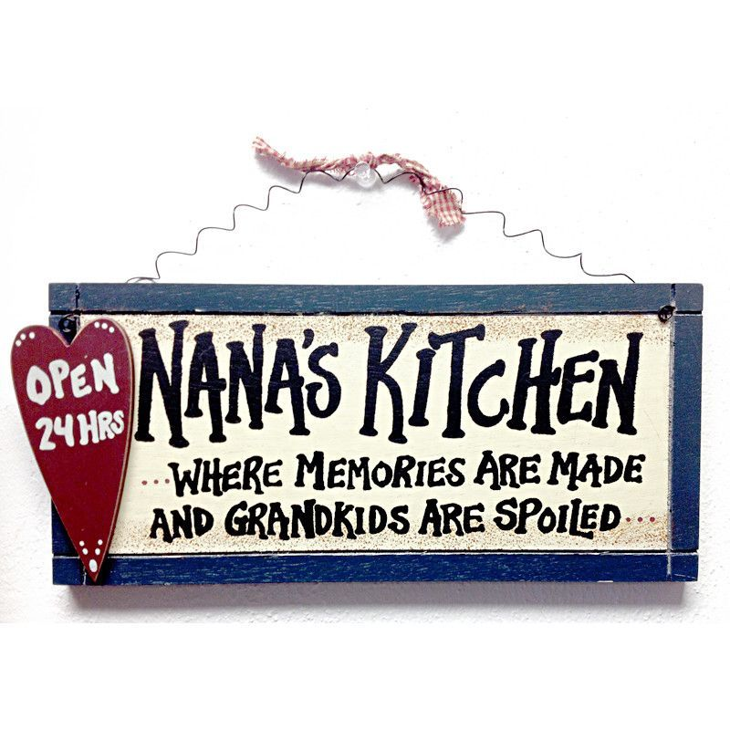 Nana\'s Kitchen... where memories are made and Grandkids are ...