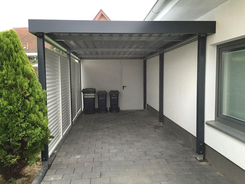 einzelcarports carceffo moderne carports garagen pr stre ky sklad a pakovanie. Black Bedroom Furniture Sets. Home Design Ideas