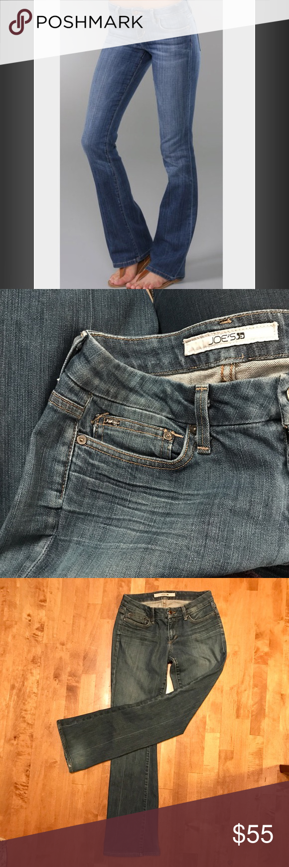 """🌷Joes Jeans Honey Curvy Cut, Size 28 Joes Jeans """"Honey, Frankie"""" curvy cut jeans. Size 28, regular length. Stretchy, comfy jeans! Minor wear to back of bottom hem only. In excellent, gently worn condition. No trades. Joe's Jeans Jeans Boot Cut"""